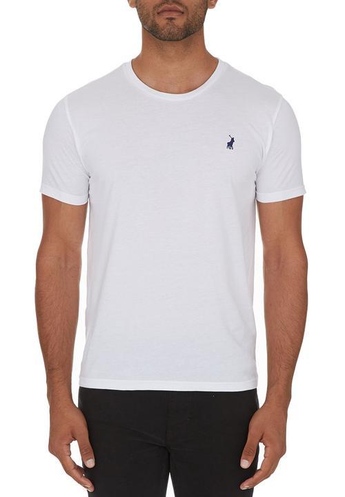 9c46e907be22 Crew Neck T-shirt White POLO T-Shirts   Vests