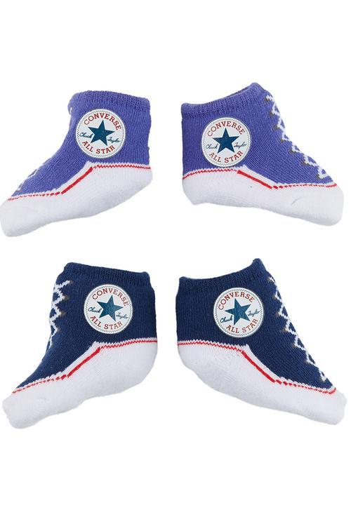 09c024d25e8c Converse Sneaker Baby Booties Navy Converse Shoes