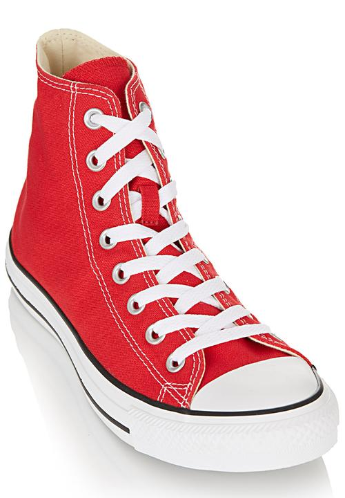 Core Basic High Top Red Converse Sneakers Superbalist Com