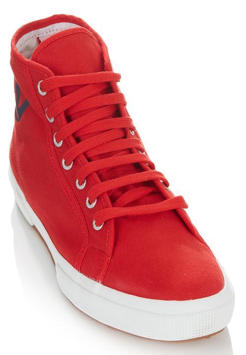 High Red Logo Sneakers Superga Top HwCgvqp