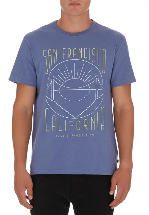 75d290447f933 Graphic T-shirt Mid Blue Mid Blue Levi s® T-Shirts   Vests ...