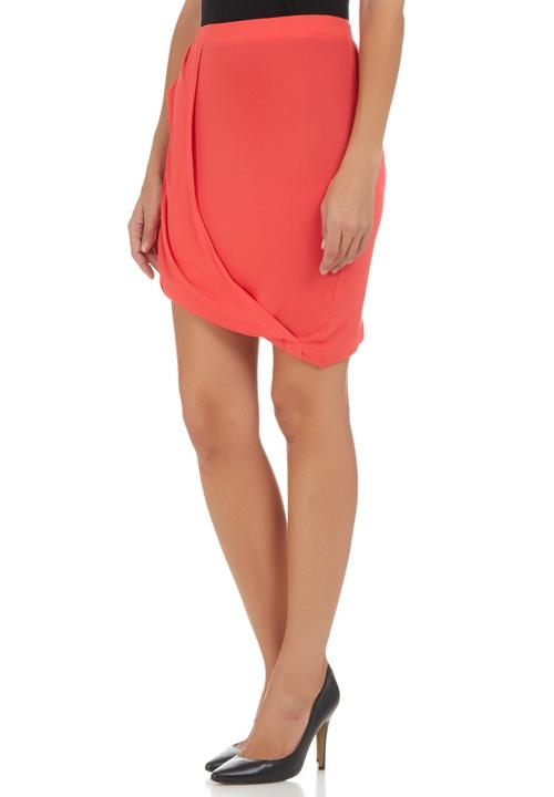 b01662097f Draped Midi Skirt Coral c(inch) Skirts | Superbalist.com