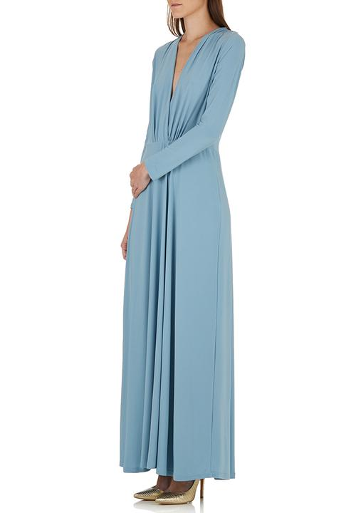 0007b48bffd1a Duck egg Grecian maxi dress Pale Blue STYLE REPUBLIC Occasion ...