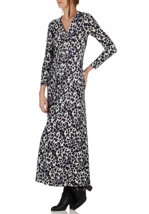 Long-sleeve Maxi Dress Animal Print STYLE REPUBLIC Casual ... c35e3bddd