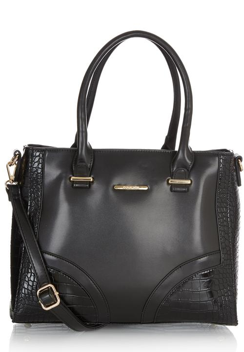 Tote Handbag with Gold Detail Black Dolce Vita Bags   Purses ... fce651d45cc82