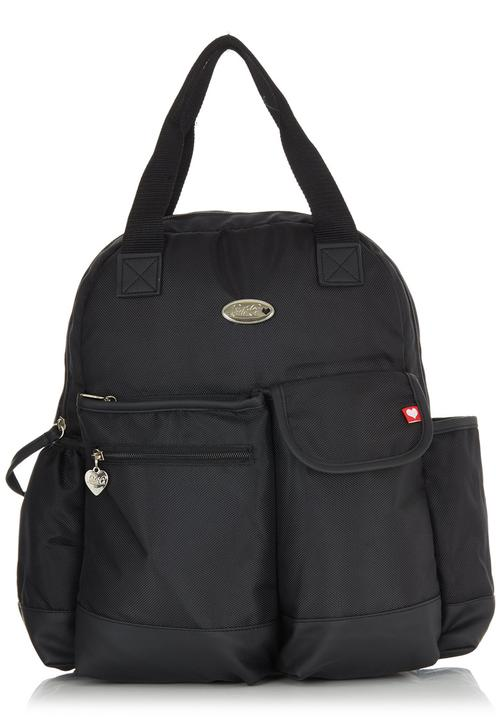 cfd9a59bd2a5 Little Co. Baby - Nappy Backpack Black