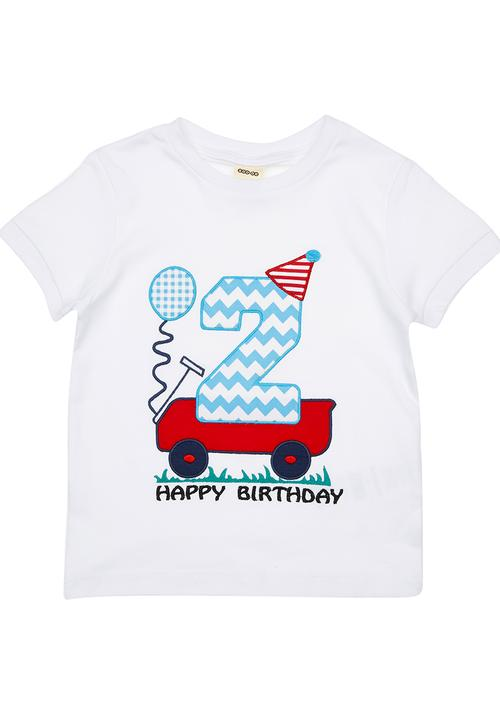 2nd Birthday T Shirt White Soobe Tops