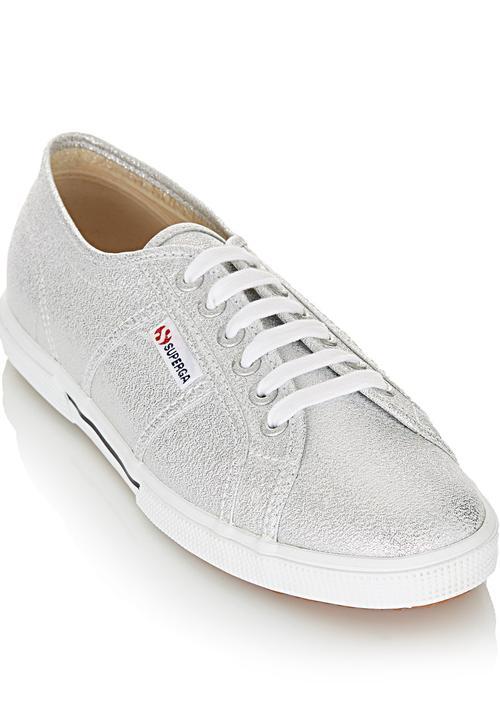 Slim Sole Sneakers Silver SUPERGA
