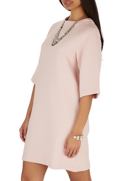 bd58f401de3 Sweater Dress Pale Pink Pale Pink STYLE REPUBLIC Casual ...