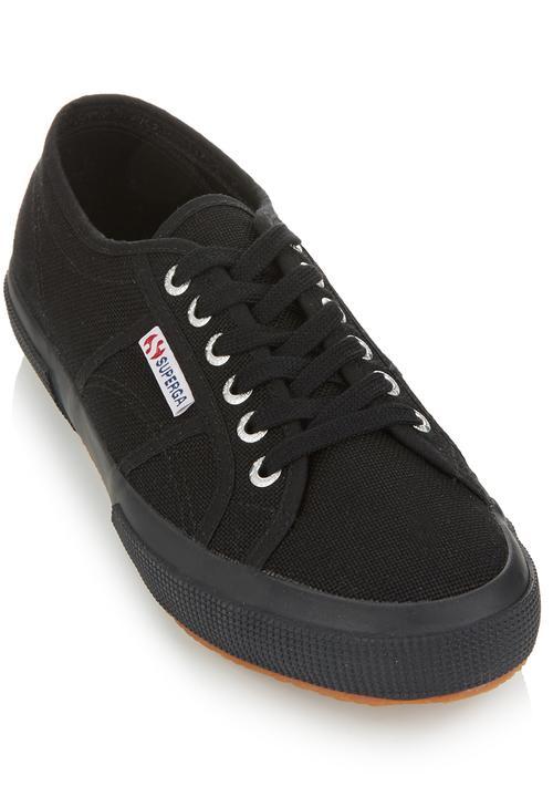 Classic Canvas Sneakers Black Black