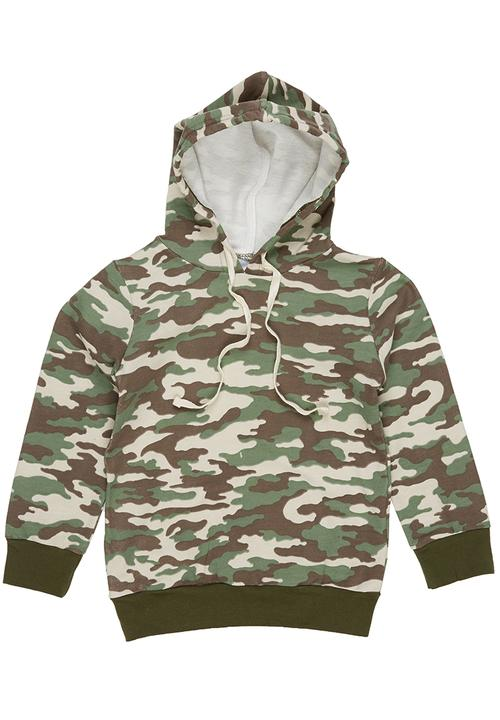 998ffd074b85 Camo Boys Hoodie Multi-colour See-Saw Jackets   Knitwear ...