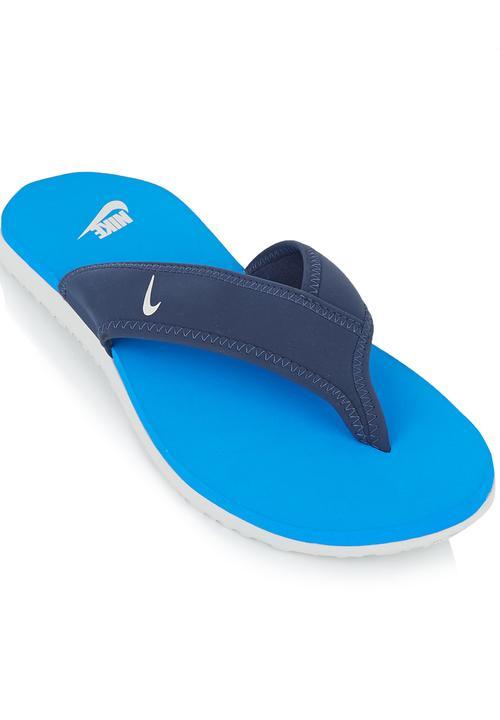 06c2026e337e Nike Celso Thong Sandal Mid Blue Nike Sandals   Flip Flops ...
