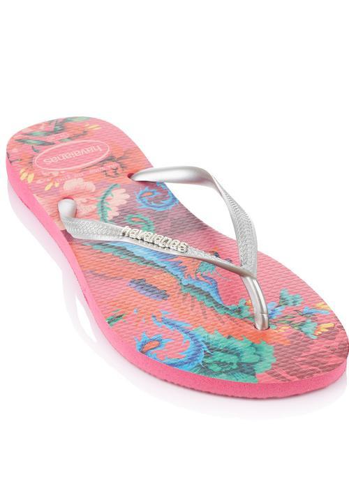 dc0b9fdc1bf55 Slim Tropical Havaiana Flip Flops Rose Havaianas Sandals   Flip ...
