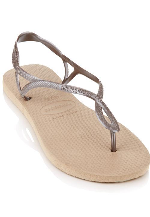 2a0fd2319 Luna Havaiana Flip Flops Dark Brown Havaianas Sandals   Flip Flops ...
