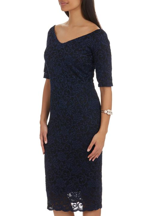 6609d16b5fbe Lace Bodycon Dress Navy Next Occasion