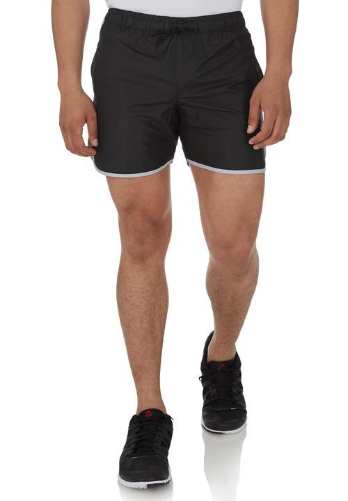 70s Running Shorts Black Edge Sweatpants