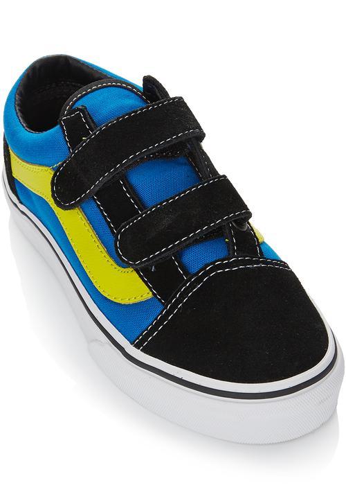 ea505b313e Velcro Strap Sneaker Multi-colour Vans Shoes