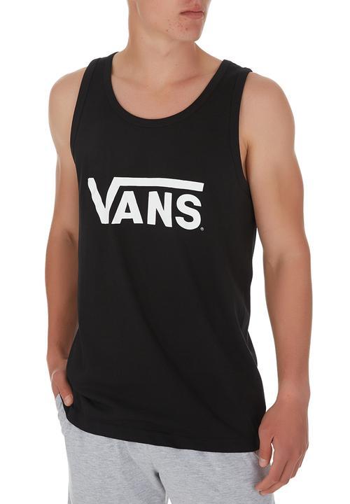 4f2bfc4bcf5208 Vans Classic Tank Black Vans T-Shirts   Vests