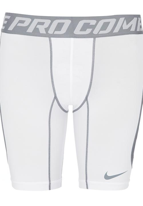 online store 2dc19 29412 Nike - Nike Pro Hypercool Compression 6-Inch Shorts White