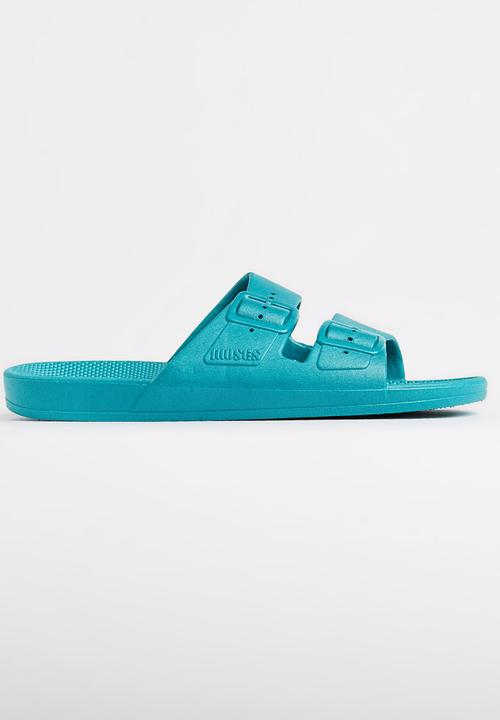 09cf620d2 Moses Freedom Sandals Turquoise Moses Sandals & Flip Flops ...