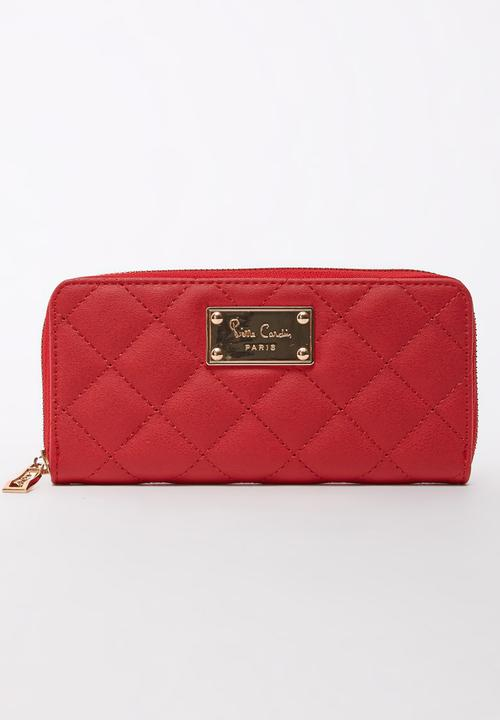 Quilted Purse Red Pierre Cardin Bags & Purses
