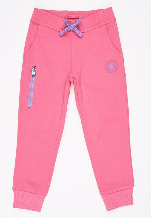 7abdf1bb82f44d Core Jogger Mid Pink Converse Pants   Jeans