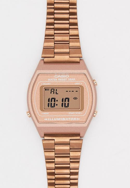 bcccec77dc2 Casio B-640WC-5 Watch Rose gold Casio Watches