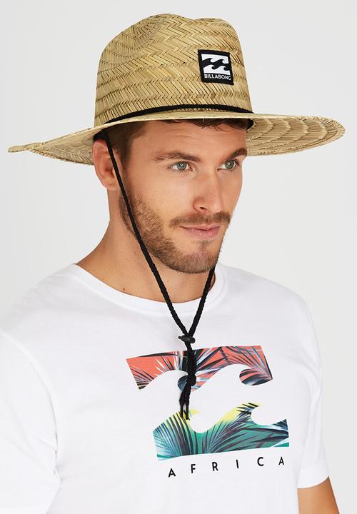 Bazza Straw Hat Neutral Billabong Headwear  2c831468263d
