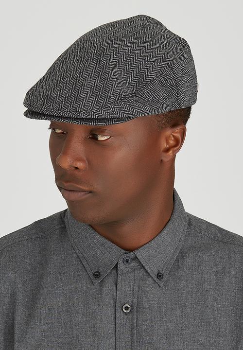 Hooligan Snap Cap Grey Brixton Headwear  6ac4cf7d25b