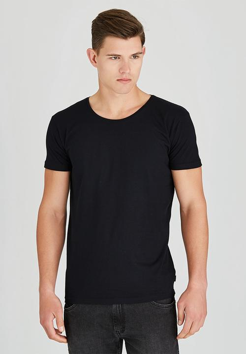 041802ed60 MENS BASIC CREW NECK TEE Black Silent Theory T-Shirts & Vests ...