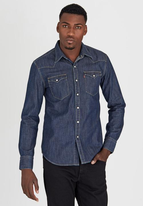 883ce7f4814 Barstow Western Red Cast Rinse Blue Levi s® Shirts