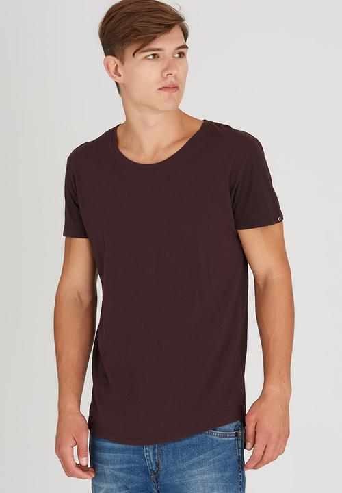 6ab2516d85 Pigment Tail Tee Dark Red