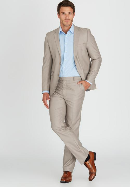 exceptional range of styles new release fair price Healy Suit Stone/Beige