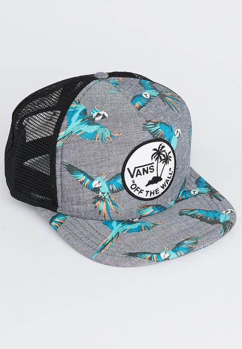 e817a41fe1a309 Surf Patch Trucker Grey Vans Headwear