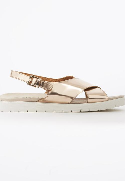 a292feba8 Crossover Sandals Rose gold edit Sandals   Flip Flops