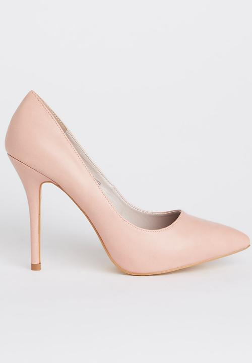 c8507a8a43b0 Pointed-toe Court Heels Pale Pink Sissy Boy Heels