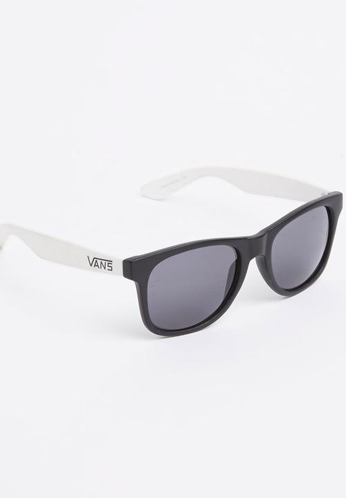 3ac7b0edab1 Wayferer Sunglasses Black and White Vans Eyewear