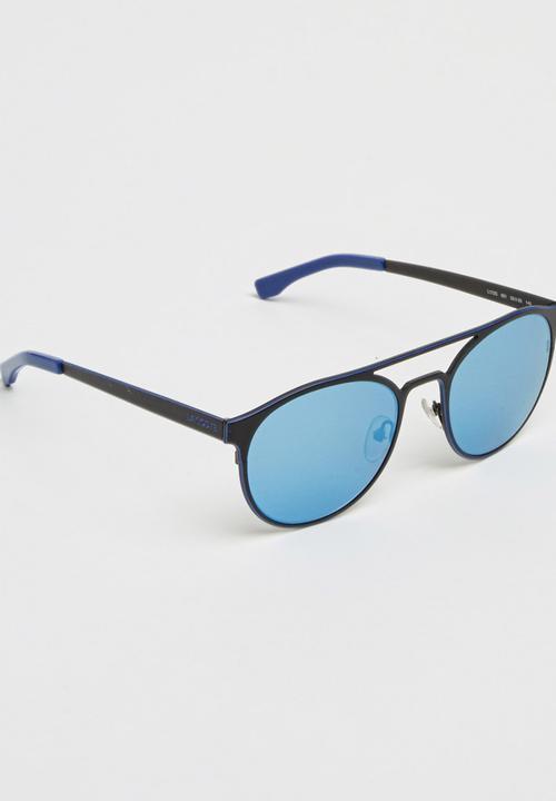 53ecfb2a08cc9 Lacoste Aviator Sunglasses Black Lacoste Eyewear