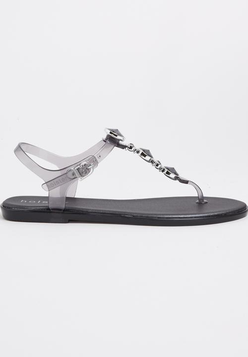 74429a6a9 Jelly Diamante T-bar Sandals Clear Holster Sandals   Flip Flops ...
