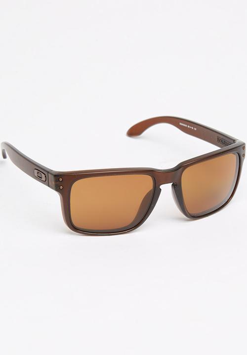 a32438b5820 Oakley Holbrook Sunglasses Dark Brown Oakley Eyewear