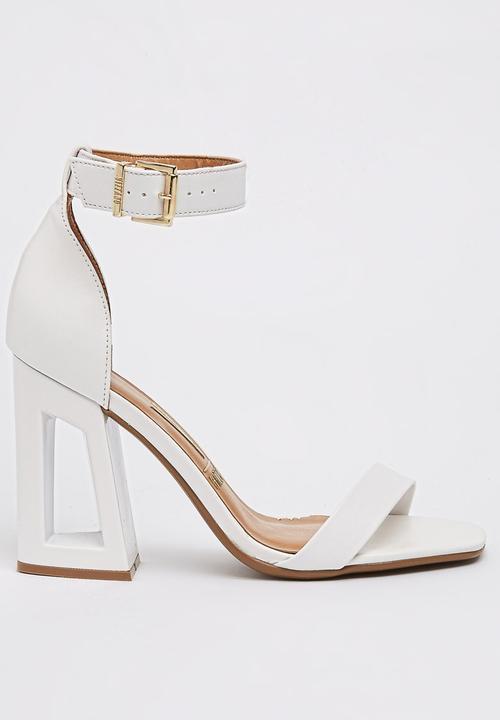 e427c724abb Ankle-strap Sandals White Vizzano Heels