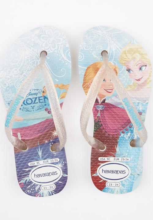 42b703e15a Frozen Flip Flops Multi-colour Havaianas Shoes | Superbalist.com