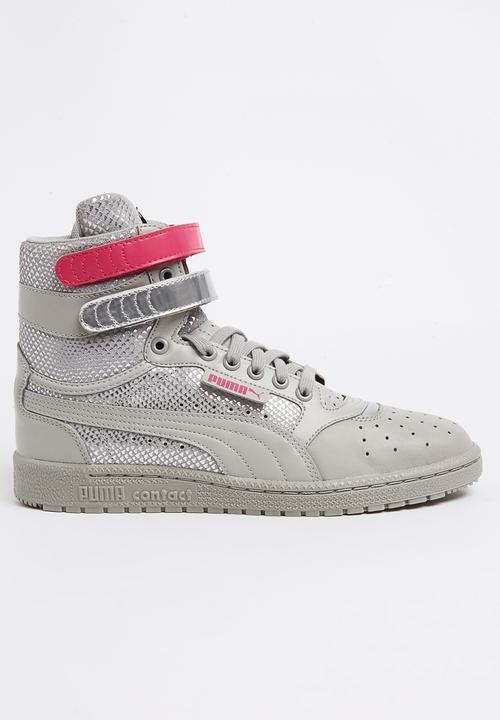 d6c36f32b18 Sky II Hi Future Minimal Sneakers Mid Grey PUMA Sneakers ...