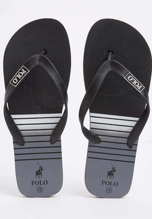 Polo Basic Flip Flop Black POLO Sandals