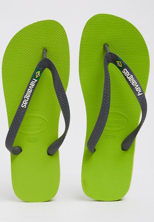 083d94d0640b Brazil Logo Flip Flops Mid Green Havaianas Sandals   Flip Flops ...