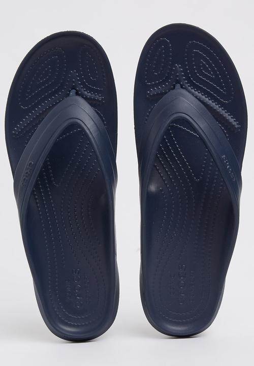 71ecb4bafbe3 Crocs Classic Flip Flop Navy Crocs Sandals   Flip Flops ...