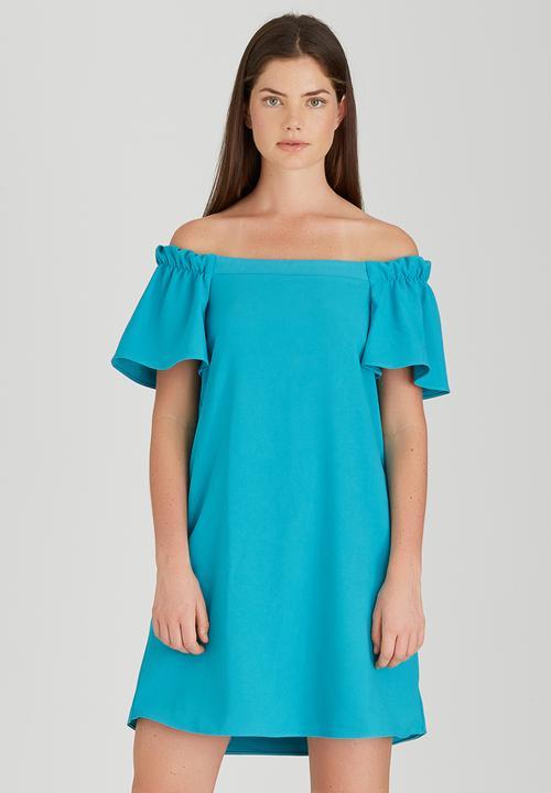 b93bad6f9637 Bardot Dress Turquoise STYLE REPUBLIC Casual