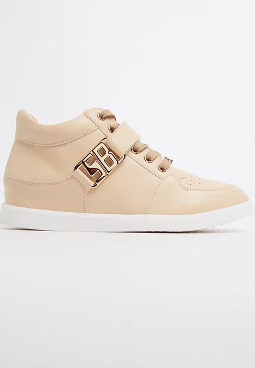 Amber Wedge Sneakers Neutral Sissy Boy
