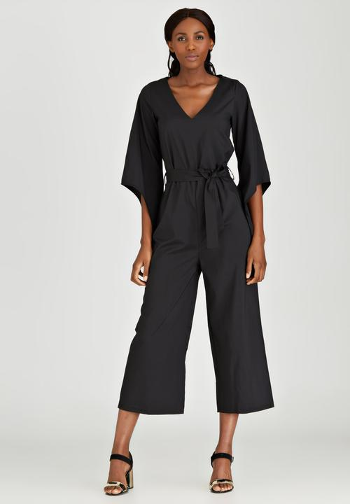 235c37e181d8f Kimono Jumpsuit Black SALT Jumpsuits & Playsuits | Superbalist.com