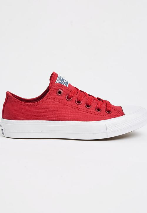 b1283caf5c6 Chuck Taylor All Star II Low Red Converse Sneakers